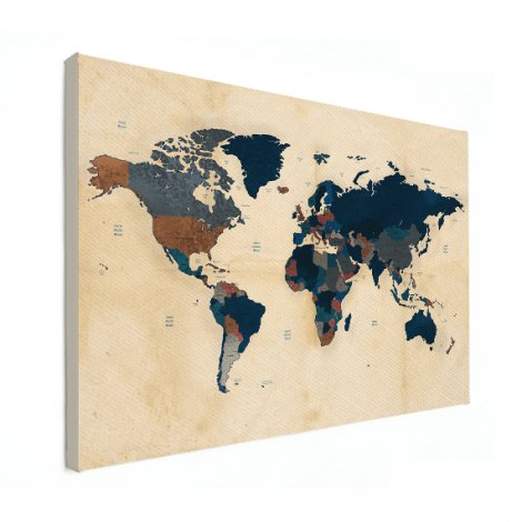 Papier historisch canvas