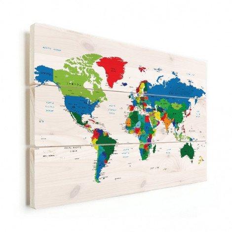 Alle landen hout