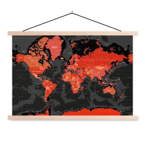 Rood-zwart schoolplaat