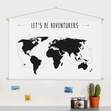 Tekst adventures schoolplaat