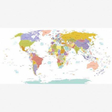 Alle Landen - pastel Poster
