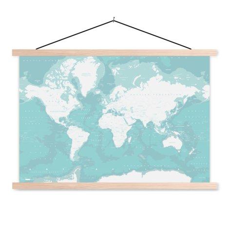 Oceanen schoolplaat
