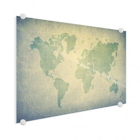 Perkament groen plexiglas