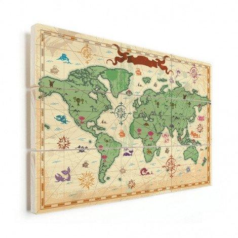 Schatkaart hout