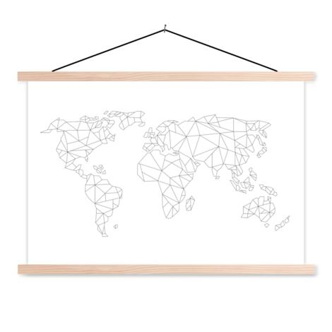Geometrisch lijn schoolplaat