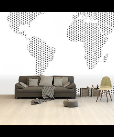 Wit Behang Kopen.Wereldkaart Behang Voor Echte Reizigers Wereldkaarten Nl