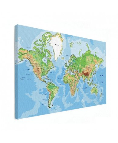 Geografisch canvas
