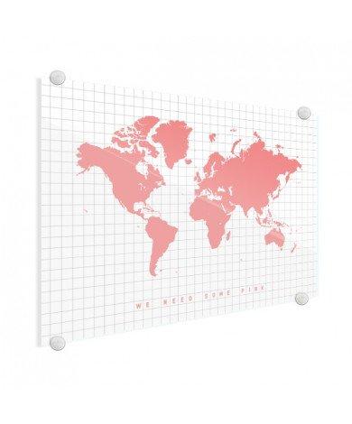 Roze plexiglas