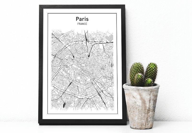 plans de ville